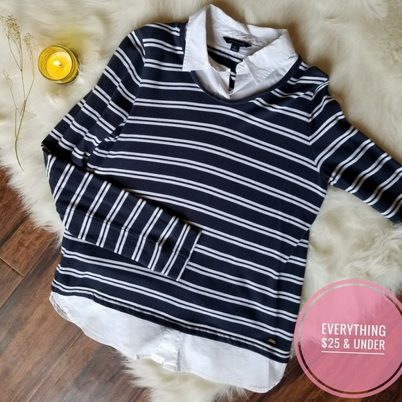 142418d8f FREE SHIPPING Tommy Hilfiger Striped Sweater. M_5a448561daa8f6a9940c1de4
